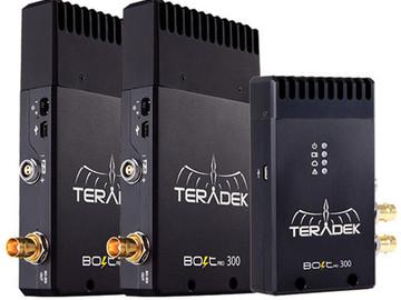 Rent: Teradek Bolt Pro 300 Transmitter with 2 Receivers (SDI) Kit