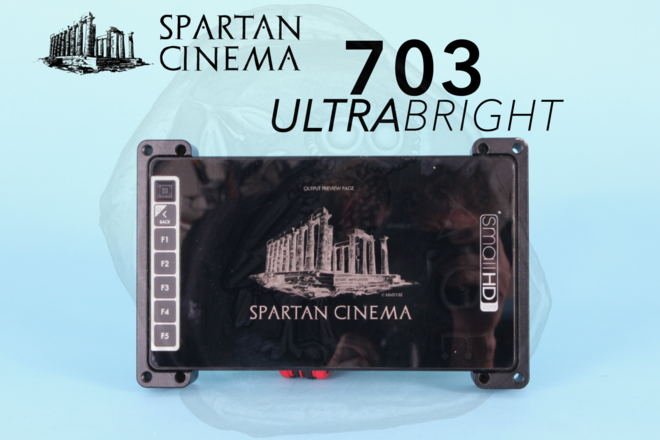 SmallHD 703 UltraBright + Sun Shade & Mount
