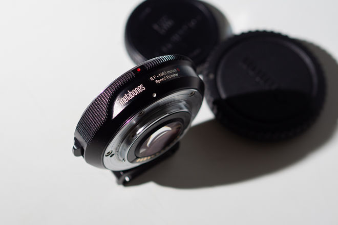 Metabones EF to Micro Four Thirds Speed Booster S 0.71x