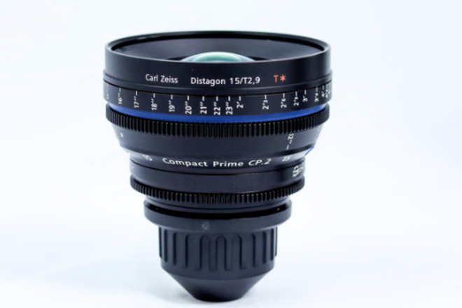 Zeiss Compact Prime CP.2 15mm T2.9 w/PL or EF Mount