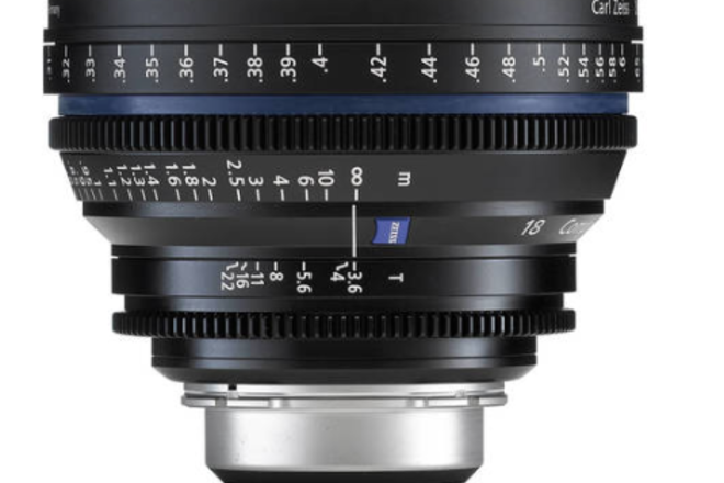 Zeiss Compact Prime CP.2 18mm T3.6 w/PL or EF Mount