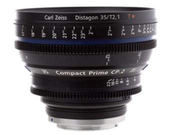 Zeiss  CP.2 35mm T1.5 Super Speed w/PL or EF Mount