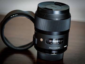 Rent: Sigma Art 35mm f/1.4