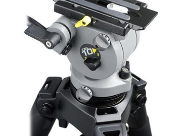 Rent: Miller DS-10 DV Fluid Head & Solo Aluminum Tripod