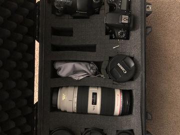 Canon EOS 5D Mark IV Kit with L Glass Lenses