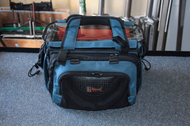 Petrol Medium Audio Sound Mixer Bag Blue