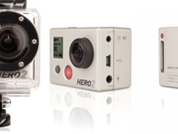 Rent: GoPro Hero 2 (3 Piece) Package