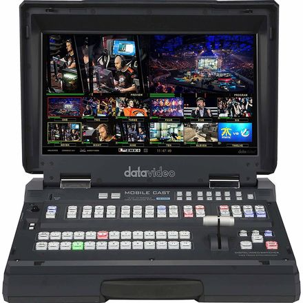 Datavideo HS-3200 1080p Portable Switcher with built-in Reco