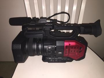 Rent: Panasonic DVX200 w/ Shotgun Microphone