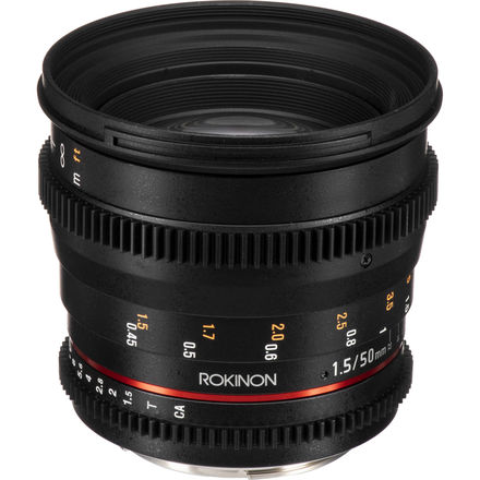 Rokinon Cine Lens Set 85mm + 50mm