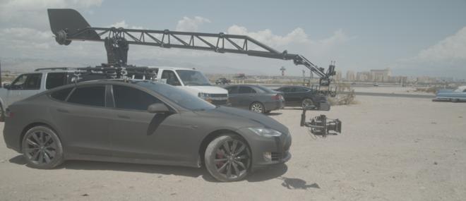 Motocrane Ultra Arm & Tesla Camera Car Russian Arm