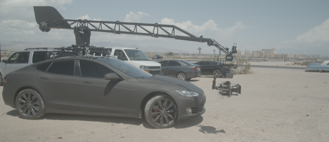 Motocrane Ultra Arm & Tesla Camera Car Russian Arm