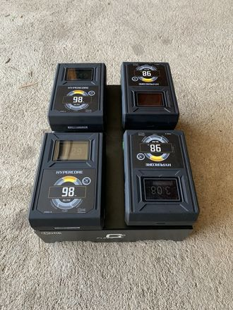 Hypercore Slim 98 Anton Bauer Gold Mount Arri Red Battery