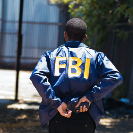 FBI Jacket Costume