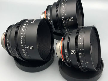 Rent: Rokinon Xeen 3 Lens Set with Follow Focus and Rods