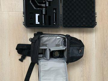 Rent: Sony Alpha a6000 Mirrorless Digital Camera with Zhiyum Crane