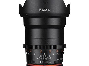Rokinon Cine 35mm T1.5 Sony E-Mount