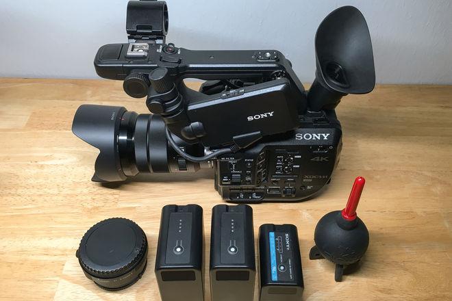 Sony FS5 RAW w/ 18-105 and Metabones EF