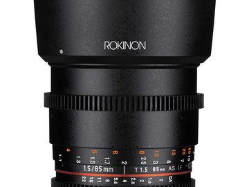 Rokinon Cine DS 85mm T1.5 Sony E-Mount