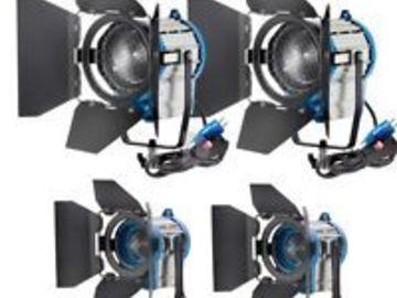 Rent: 2PCS 110V 650W and 2PCS 110V 1000W Fresnel Focusable Spo