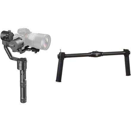 Zhiyun Crane V2 3-Axis Gimbal Stabilizer & Dual Handgrip Kit