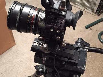 Rent: A7s II, Metabones, Miller 25, Rokinon Cine Primes Package