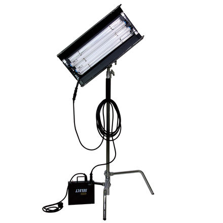 Kino Flo 2-ft 2-Bank Complete Kit with C-Stand