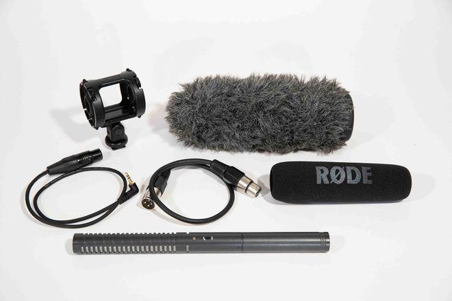 Audio Package: NTG2 shotgun, Tascam recorder, K & M pole