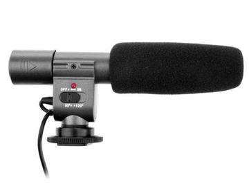 Rent: Shotgun Stereo Microphone for 3.5mm Mic Digital Camera DSLR