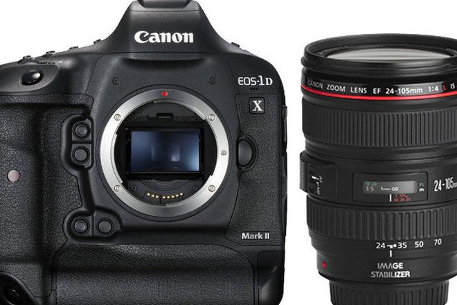 Canon EOS-1D X Mark II w/ extras