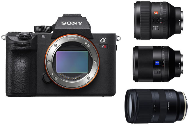 Sony a7R III Package with G Master Zeiss Lenses a7RIII
