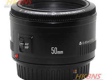 Rent: EF 50MM F/1.8II CANON LENS