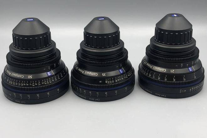 Any (3) Zeiss CP2 PL Lenses for your next Project!