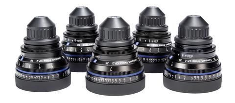 Zeiss Compact Prime CP.2 5 Lens Set w/ 15mm