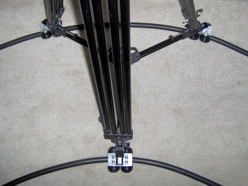 Rent: Portable Camera Dolly with 36ft. of Rubber Flex Track crane