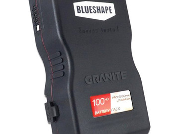 Rent: BlueShape 4 x 100HD V Mount Batteries + Chargers Kit