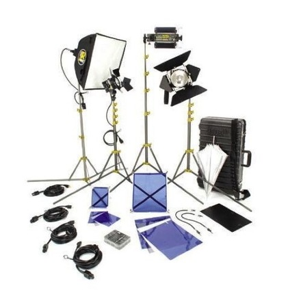 Lowel DV Creator 44 Kit with Case - 4 Lights