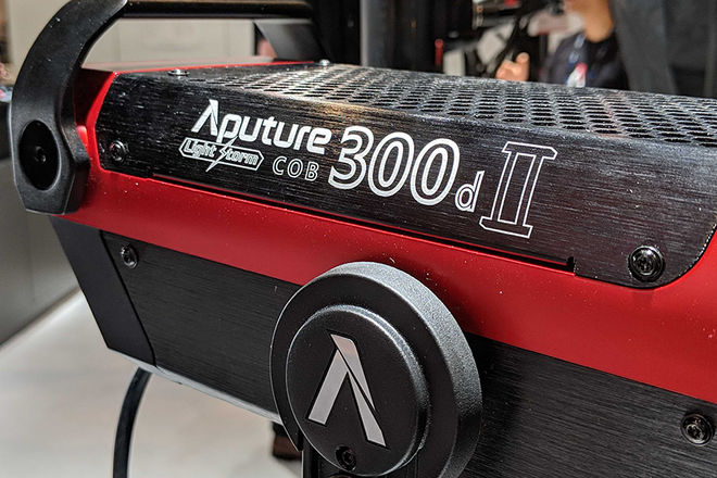 Aputure 300d II with Lantern Softbox & Fresnel 2X Mount