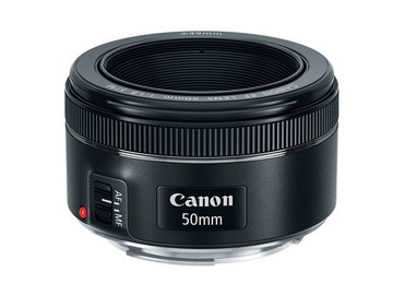 Rent: Canon EF 50mm f/1.8 II Camera Lens