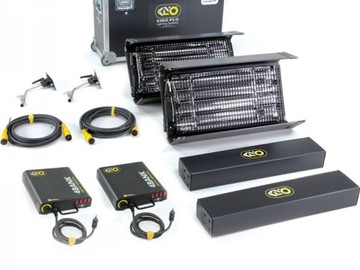 Rent: (2)2'x4bank Kino Flo Interview Lighting Kit-2NT-120U
