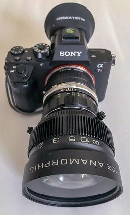Anamorphic Aivascope 1.5x Prime Lens Kit
