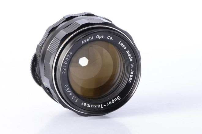 Asahi Pentax Super Takumar 50mm f/1.4 - Radioactive  ☢️