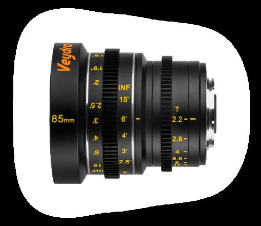 Veydra Mini Prime Lens Set (Micro 4/3)