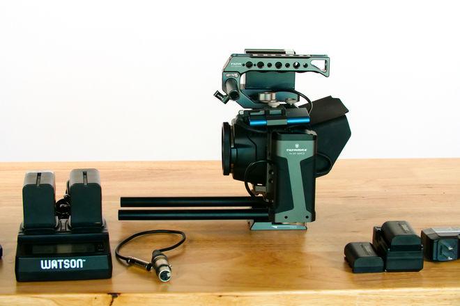 Blackmagic Design Pocket Cinema Camera 6K and Tilta Cage