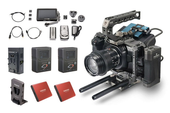 Blackmagic Pocket 6K EF | DELUXE KIT [SmallHD/SSD/V-Mount]