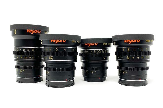 Veydra Mini Prime Lens Set 25,35,50,85 (Sony E-Mount)
