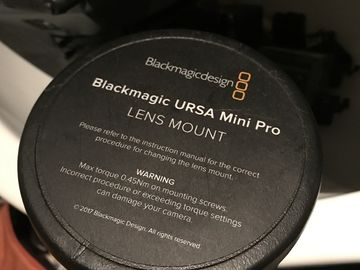 Rent: Blackmagic Design Ursa Mini Pro PL Mount