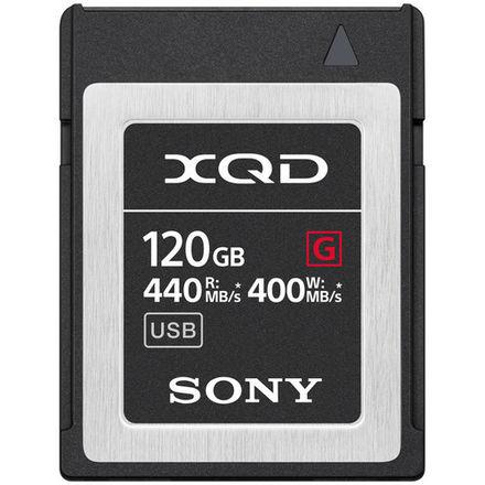Sony 128GB XQD G Series Memory Card (400MB/s)