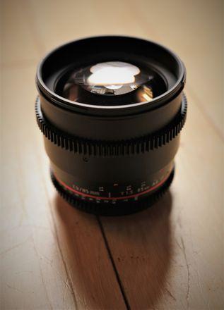 Rokinon T/1.5 85mm Cine Prime