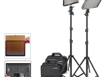 Rent: 2 Aputure Amaran AL-528S LED Video Light + 2M (6.5ft) Light